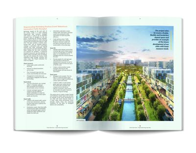 Pages 44/45 from Smart City China Report: Beixinjing Suzhou Greek Waterfront Innovation Park Community