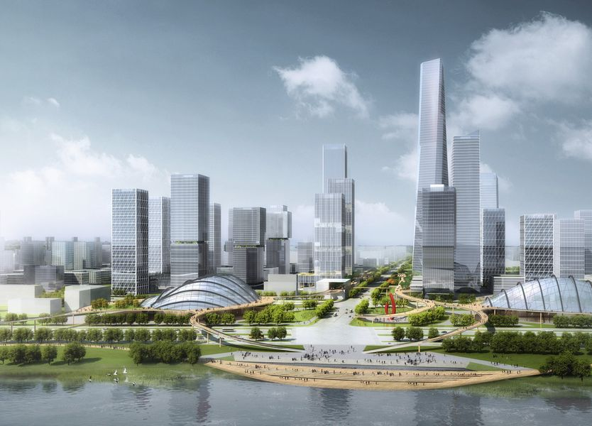 Visualisation Tusincere Yangze River Science and Technology Town