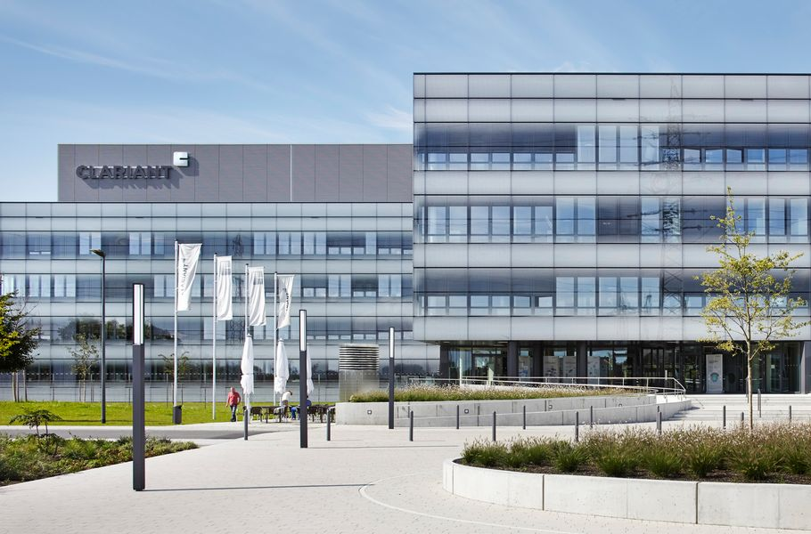 Frontalansicht Clariant Innovation Center Frankfurt