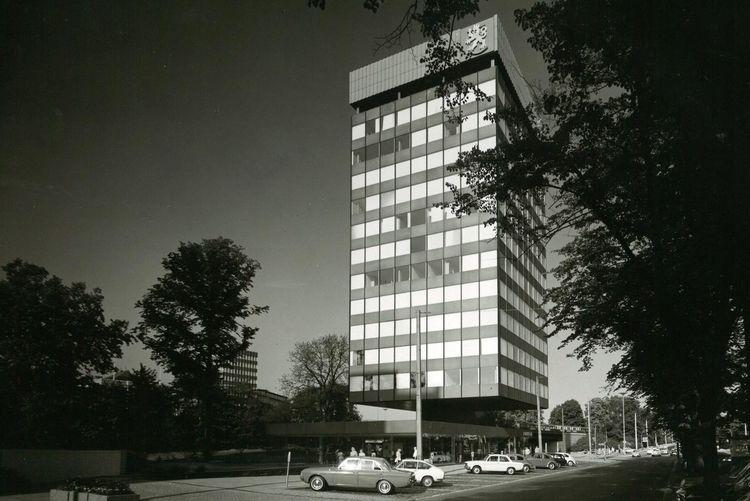 Elevation Finnlandhaus Hamburg 1966