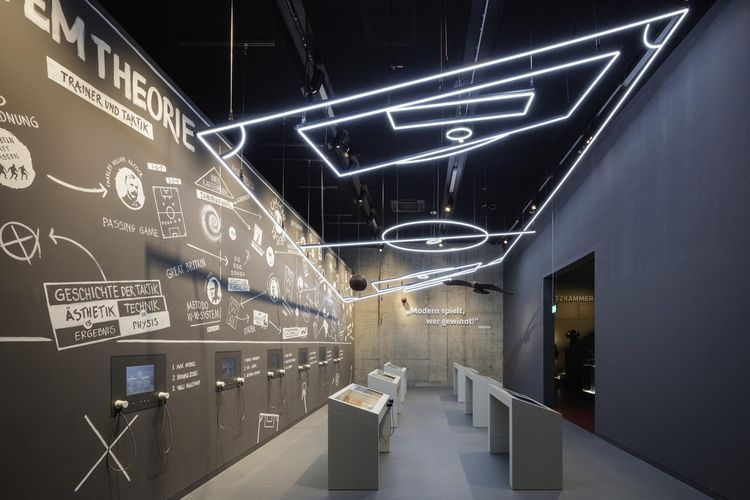 Exhibition space German Football Museum