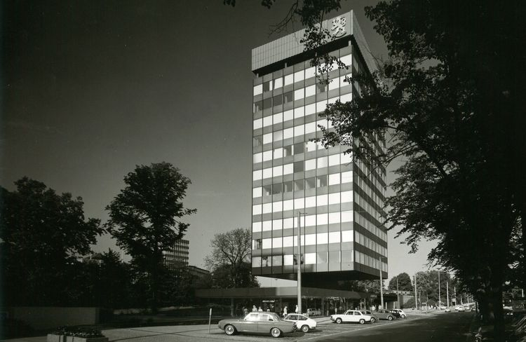 Elevation Finnlandhaus Hamburg 1966